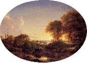 Thomas Cole Catskill Landscape oil painting picture wholesale